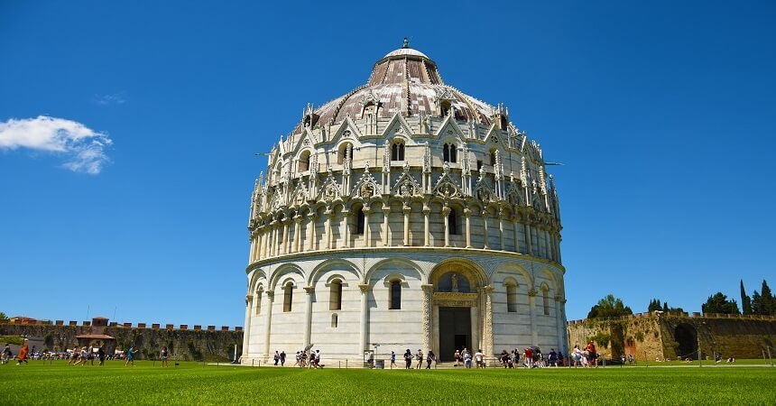 Leaning Tower of Pisa - Church