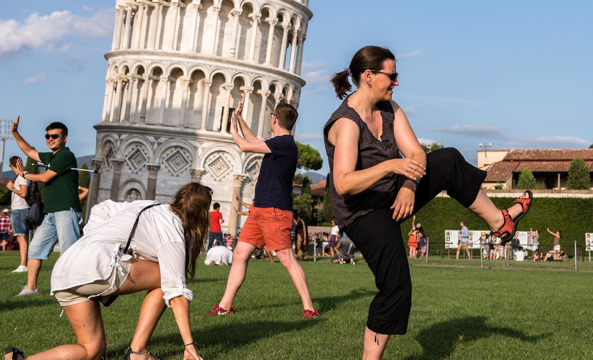 How to get the best Leaning Tower of Pisa Photo